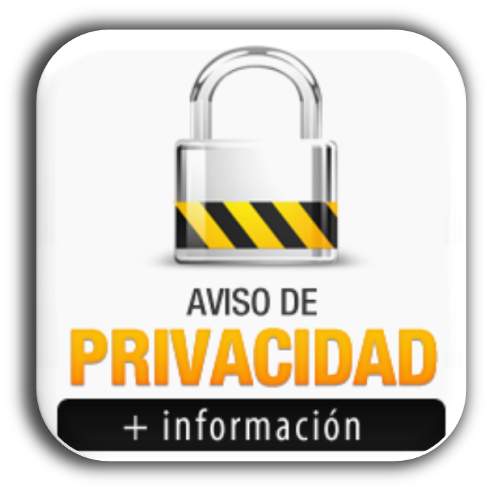 Follow Us on Aviso de privacidad